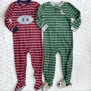 Carter's Footed Blanket Sleeper Pajamas 4T Boy